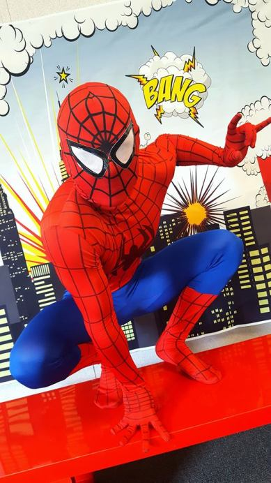 Spiderman Superhero Birthday Party