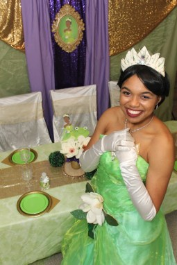Tiana Inspired Frog Princess Party