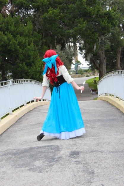 Ariel-Little-Mermaid-Princess-Character-for-Birthday Kiss the Girl