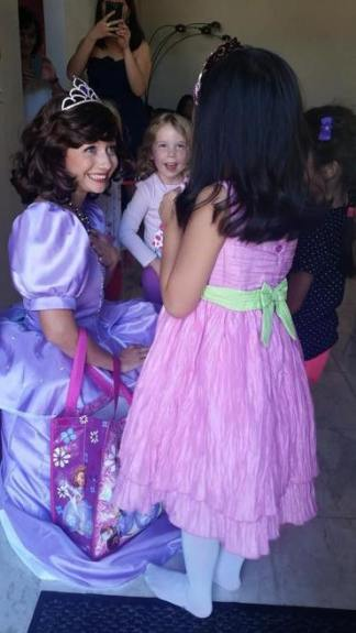Sofia the First Inspired Birthday Party St Augustine