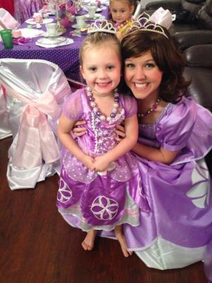 Sofia the First Inspired Birthday Party