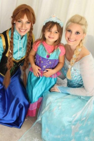 Elsa Anna Frozen Birthday Jacksonville St Augustine Florida
