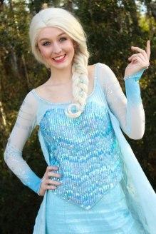 Elsa Frozen Birthday Jacksonville St Augustine Florida