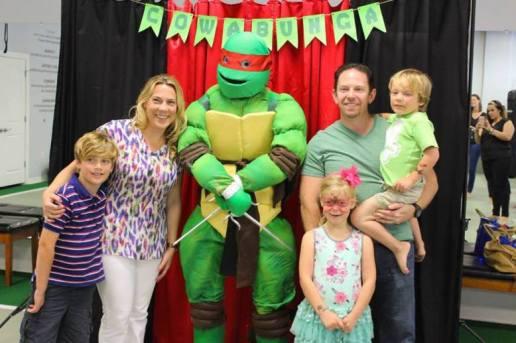 Ninja Turtle Birthday Party Jacksonville St Augustine