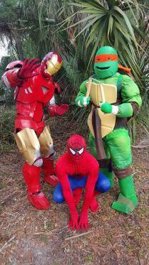 Superhero Birthday Party Jacksonville St Augustine