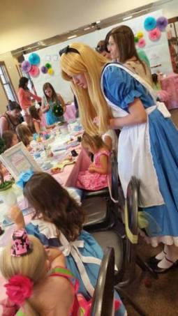 Alice in Wonderland Birthday Party Jacksonville
