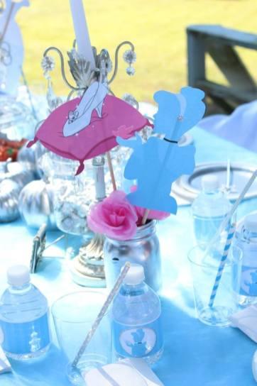 Cinderella Party Centerpiece