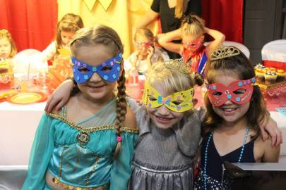 Superhero Girly birthday party