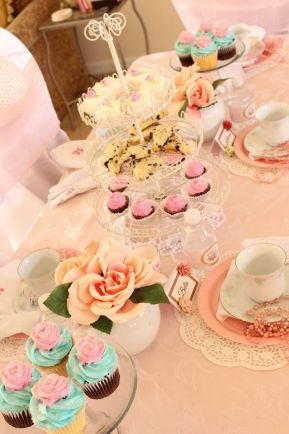 Tea Party Tablescape New