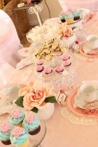 Tea Party Tablescape New