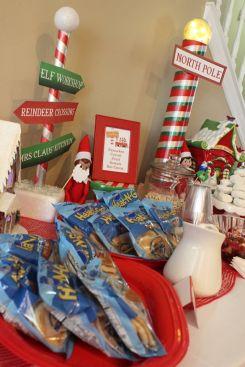 Elf on the Shelf Food