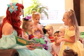 Ariel Little Mermaid Birthday Party Story Time