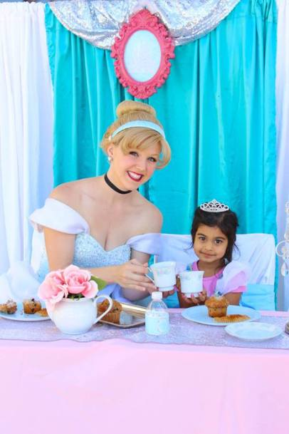 Cinderella Princess Party One on One