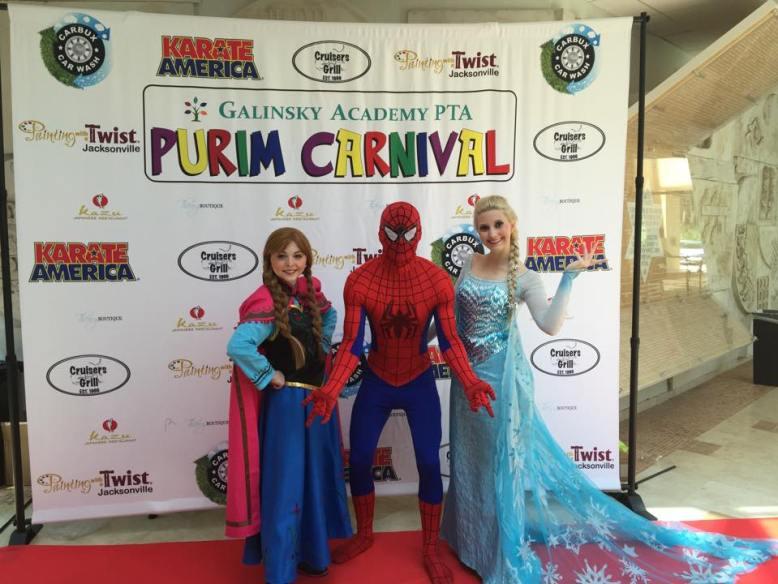 Greensboro Princess and Superhero Characters