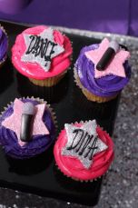 Diva Dance Birthday Party Cupcakes