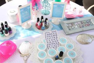 Frozen Spa Birthday Party
