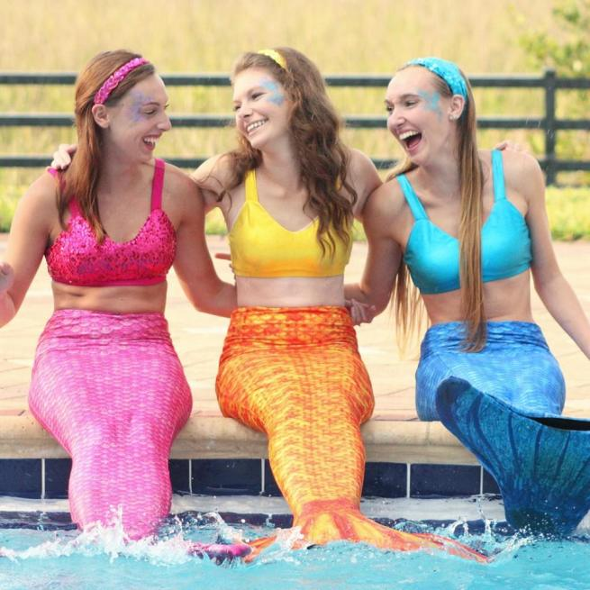 Mermaids Pool Party