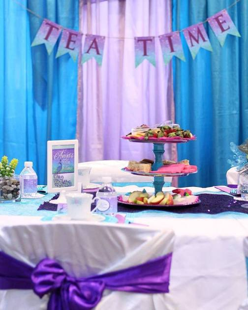 Peacock Inspired Tea Party