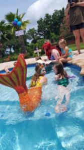 Swimming Professional Mermaids for Hire