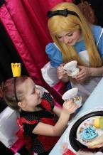Tea Party Birthday with Alice in Wonderland