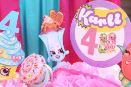 Shopkins Centerpiece