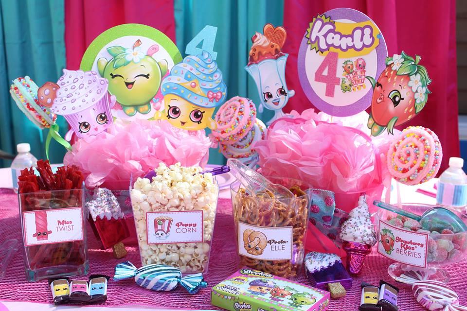 Shopkins Inspired Birthday Party