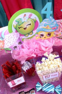 Shopkins Table Centerpiece