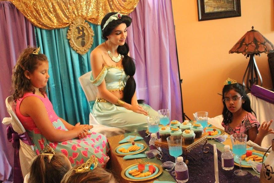 Themed Jasmine Princess Party