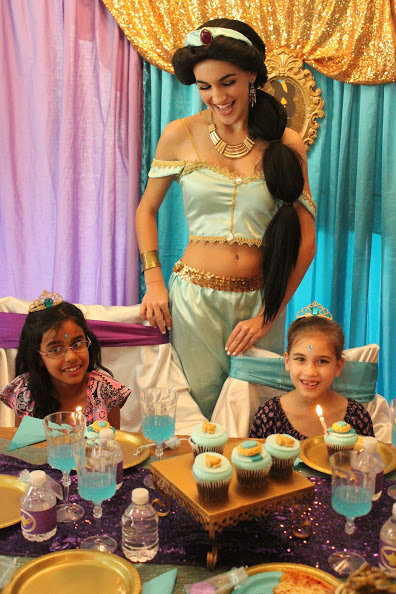 Themed Jasmine Princess Party