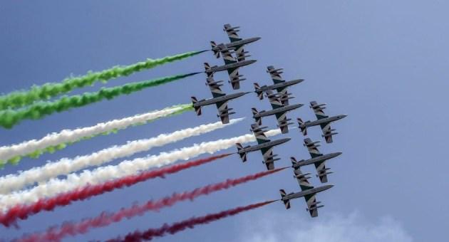 Frecce Tricolori: in Giro nei cieli d'Italia nel 2020