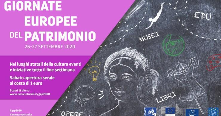Giornate Europee del Patrimonio 2020: aperture straordinarie e tanti appuntamenti