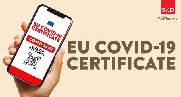 """Il Digital Green Pass diventa """"Eu Covid-19 certificate"""""""
