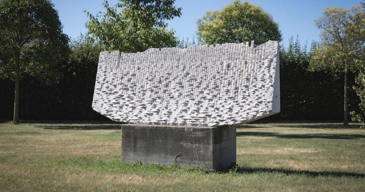 Le pietre che si ascoltano. Con le sculture di Pinuccio Sciola riapre Braida Copetti. Ingresso gratuito e visite guidate