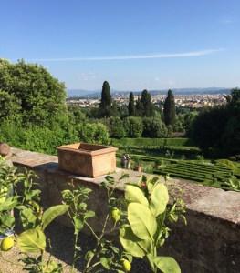 panorama Villa Petraia