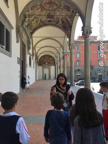 consigli per visitare il Museo degli Innocenti con i bambini