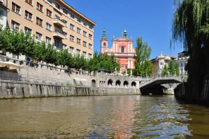 Lubiana capitale della Slovenia