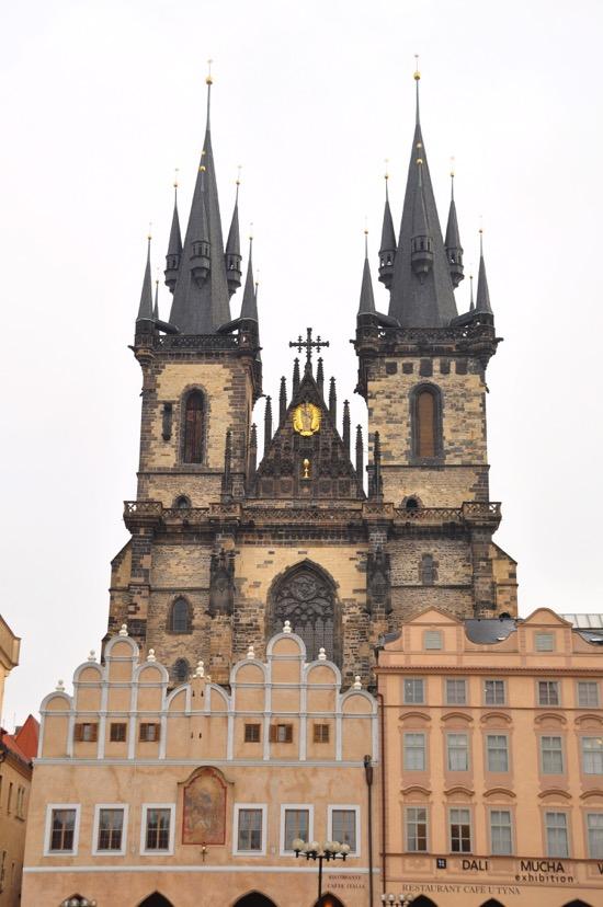 Chiesa di Santa Maria di Týn di Praga