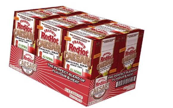 Frank's Red Hot Caesar Packaging | GIRVIN