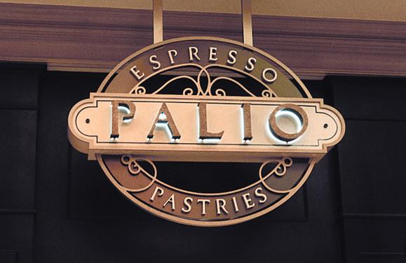 Bellagio Palio Logo and Signage