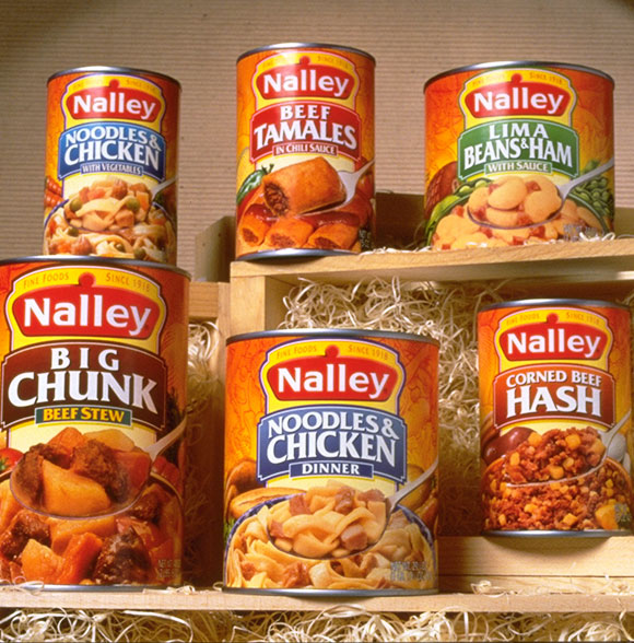 Nalley's Chili Family Packaging