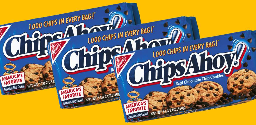 Nabisco Chips Ahoy! Packaging