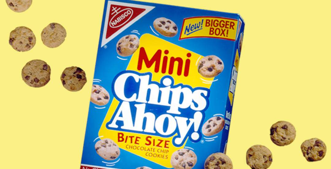Nabisco Mini Chips Ahoy!  Logo and Packaging