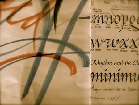 TIM GIRVIN, LLOYD REYNOLDS AND STEVE JOBS, THE CALLIGRAPHIC CONNECTION AT REED COLLEGE