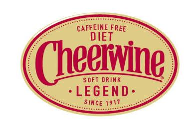 Cheerwine Label Diet Caffine Free Label