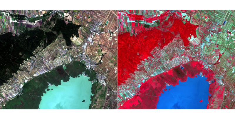 Unsupervised kMeans classification of satellite imagery