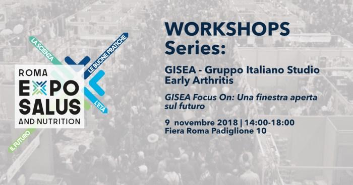 GISEA@ExpoSalus: Focus On. Una finestra sul futuro