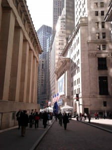 Next to Wallstreet February 2012