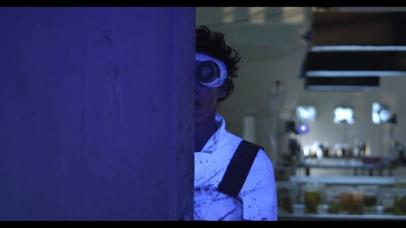 Fotograma del cortometraje Sangre