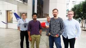 Blended outsourcing-team - indier och svenskar tillsammans