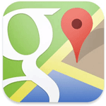 Google Maps Icon for iOS6 app.